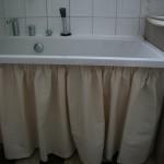 шторка под ванную