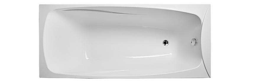чистая акриловая ванна