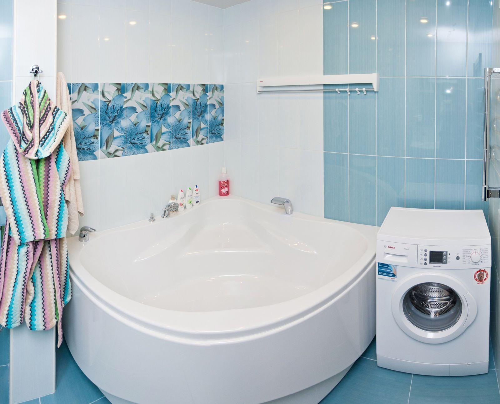 Ванная комната дизайн фото голубая