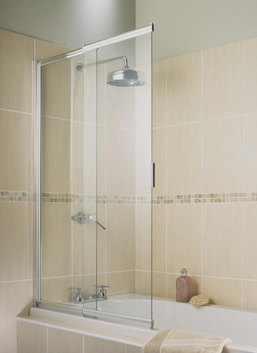 Шторки для ванной раздвижные угловые и складные