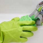 чистка смесителя от грибка