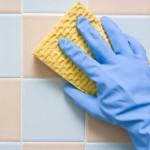 чистка настенной плитки
