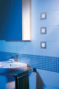 влагозащищенный светильник для ванной