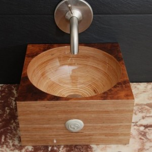 деревянная раковина