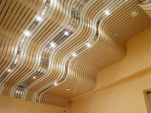 Влагозащитные светильники для реечного потолка