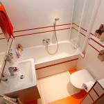бело-красная ванна