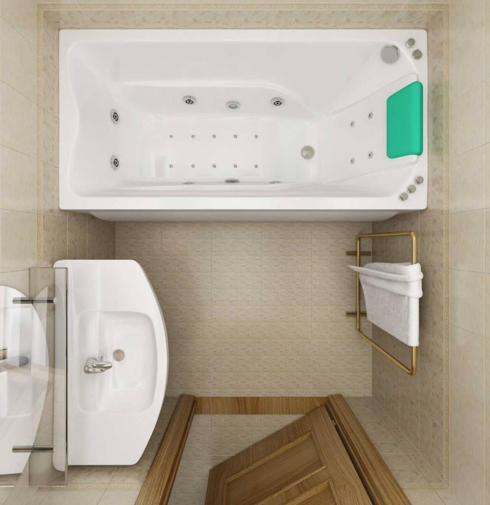 Дизайн ванной комнаты фото 3 кв м