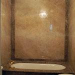 ванна под мрамор