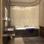 кафель в ванной комнате