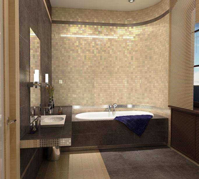Дизайн в ванной комнате своими руками