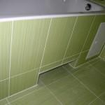 экран под ванную из керамической плитки
