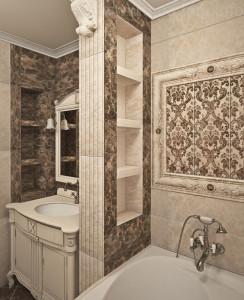 ниши в ванной