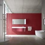 Стиль модерн для ванной