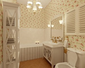 ванная в стиле прованс