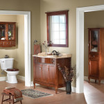 Кантри ванная комната