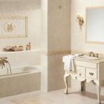 Дизайн ванной комнаты в стиле кантри