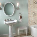 Кантри дизайн для ванной