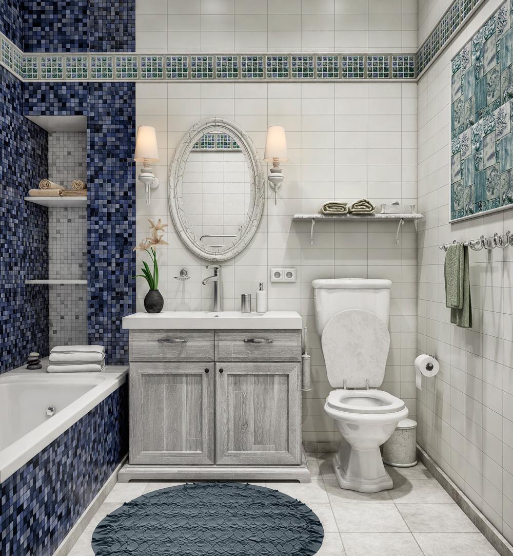 for Provence bathroom design
