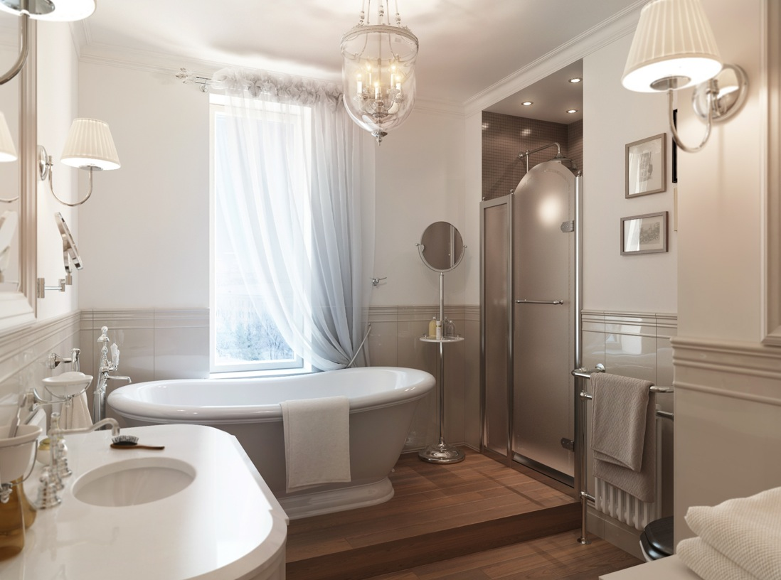 Фото интерьеров квартир интерьер ванных комнат 21 фотография