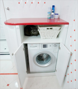 шкаф под стиральную машину