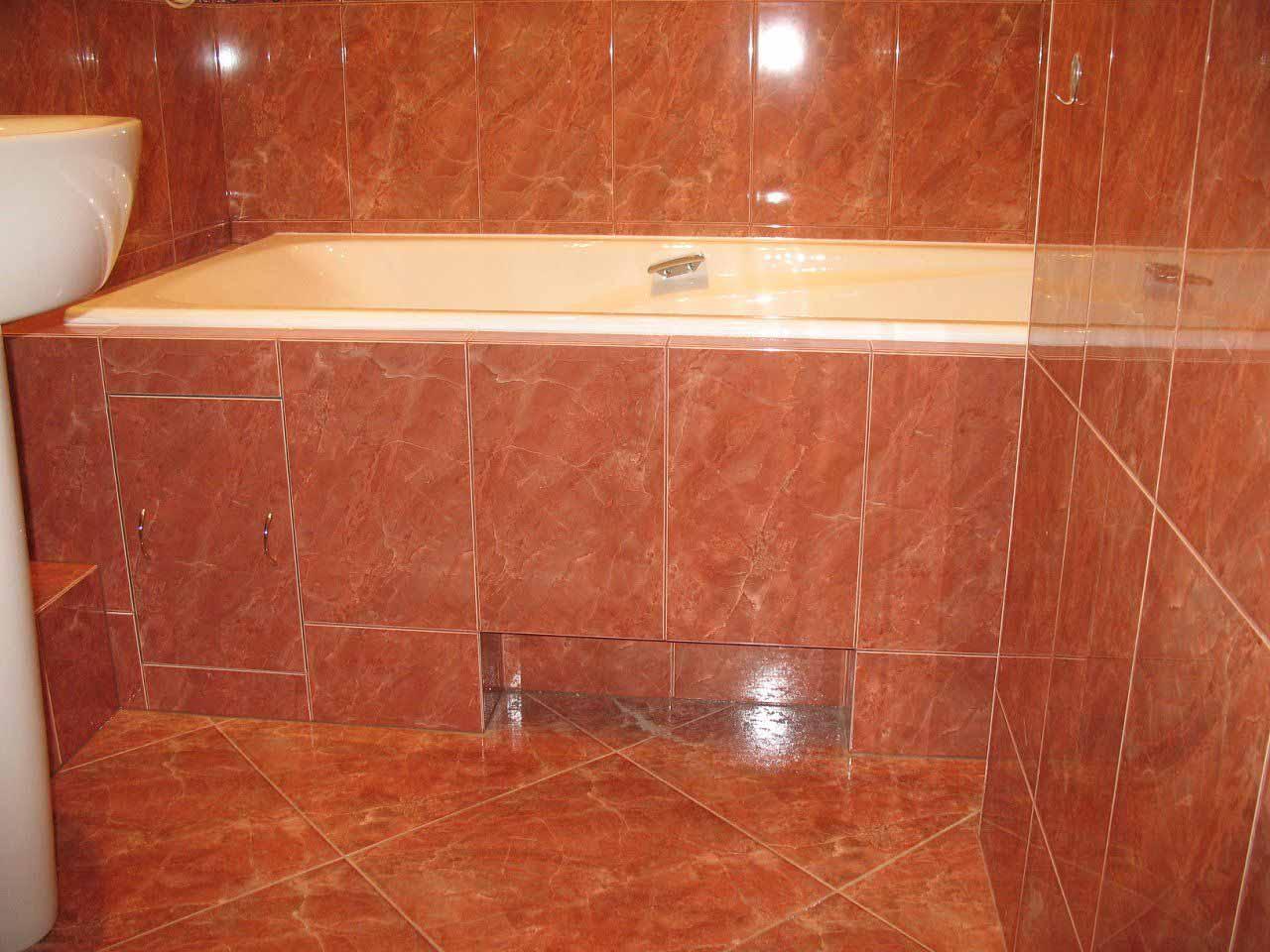 Как сделать ванную самим