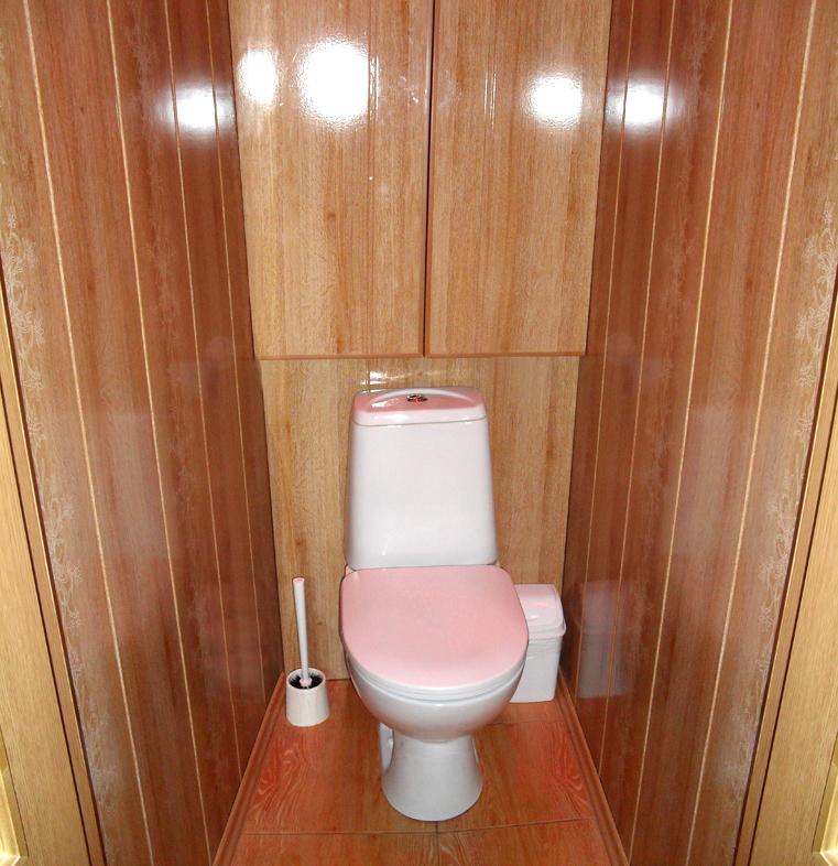 Как обшить туалет сайдингом